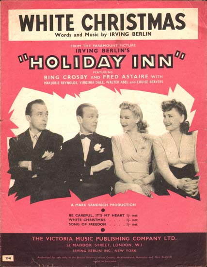 Holiday Inn UK Sheet Music