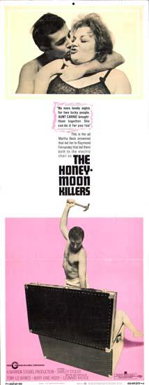 Honeymoon Killers, The US Insert movie poster