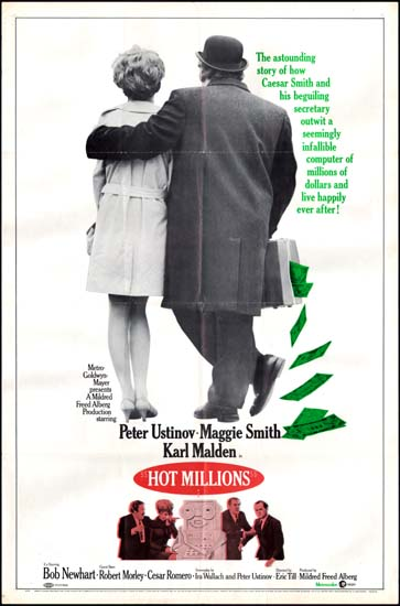 Hot Millions US One Sheet movie poster