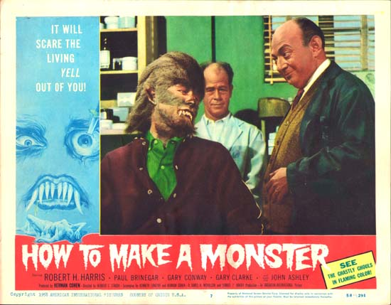 How to Make a Monster US Lobby Card number 7