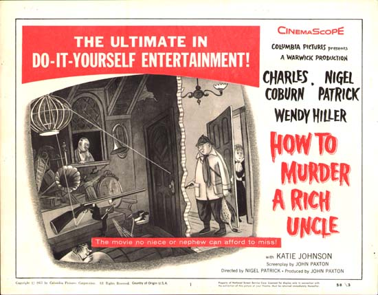 How to Murder a Rich Uncle US Title Lobby Card