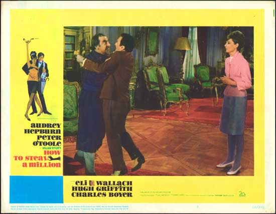 How to Steal a Million US Lobby Card number 5
