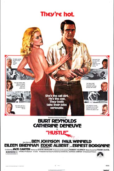 Hustle US One Sheet movie poster