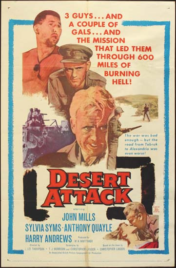 Ice Cold in Alex [ Desert Attack ] US One Sheet movie poster