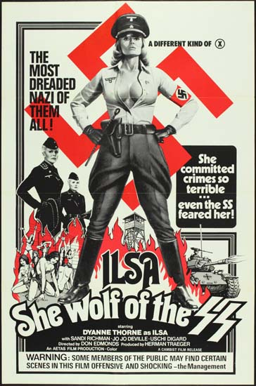 Ilsa She Wolf of the SS US One Sheet movie poster