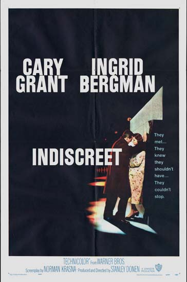 Indiscreet US One Sheet movie poster