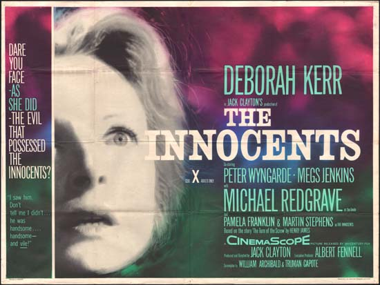 Innocents, The UK Quad movie poster
