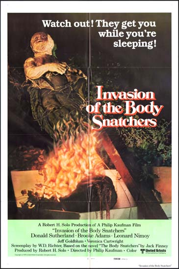 Invasion of the Body Snatchers US One Sheet international A movie poster