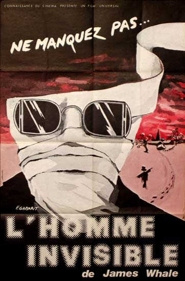 Invisible Man, The French movie poster