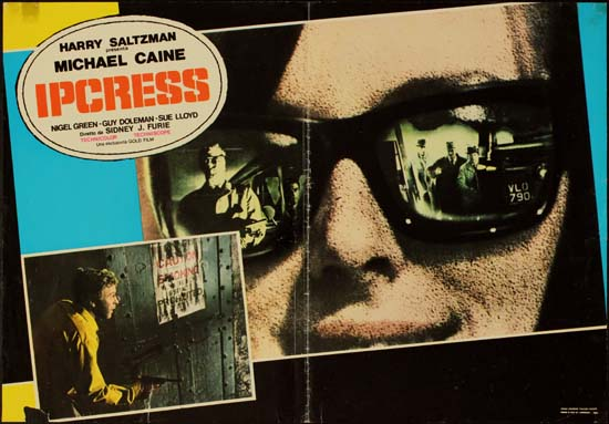 Ipcress File, The Italian Photobusta movie poster