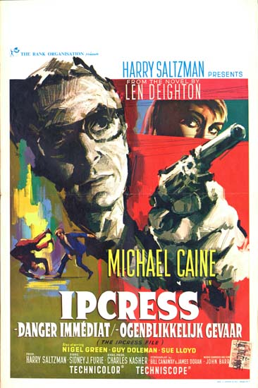 Ipcress File, The Belgian movie poster
