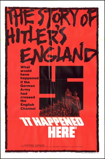 It Happened Here US One Sheet movie poster