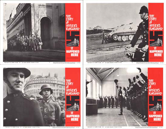 It Happened Here US Lobby Card Set of 8