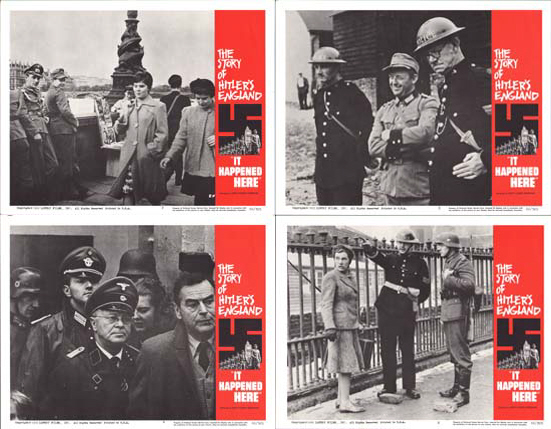 Image 2 of It Happened Here US Lobby Card Set of 8
