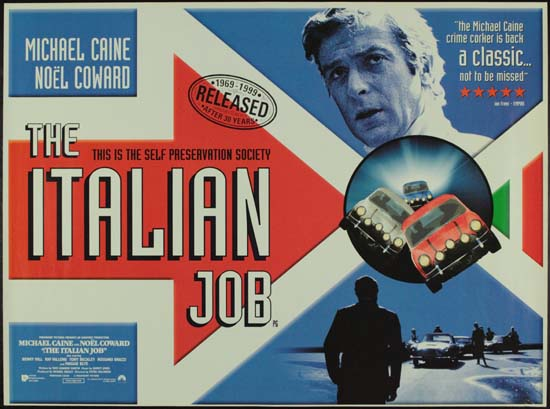 Italian Job, The UK Quad