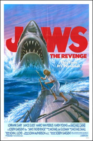 Jaws The Revenge US One Sheet movie poster