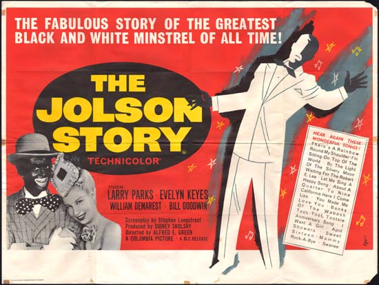 Jolson Story, The UK Quad movie poster