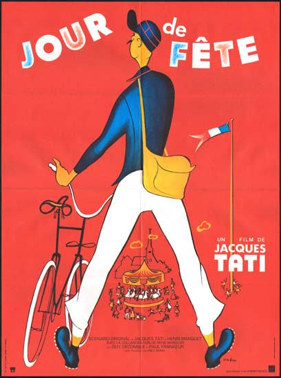 Jour de fete original film poster movie poster studio 1612 - Jour de fete vendenheim ...