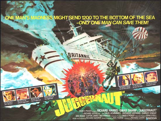 Juggernaut original film poster | Movie Poster Studio 1596
