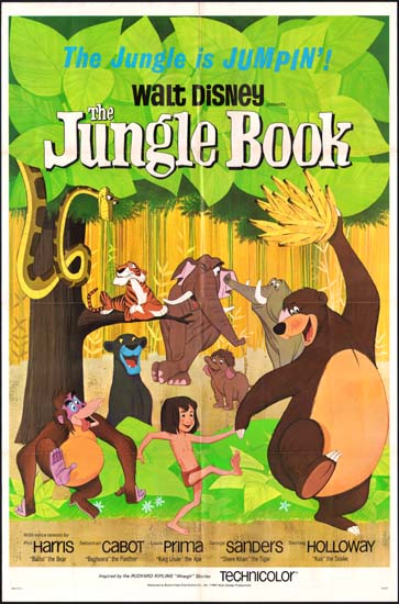 Jungle Book, The US One Sheet movie poster