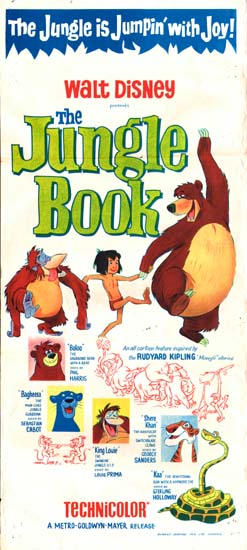 Jungle Book, The Australian Daybill movie poster