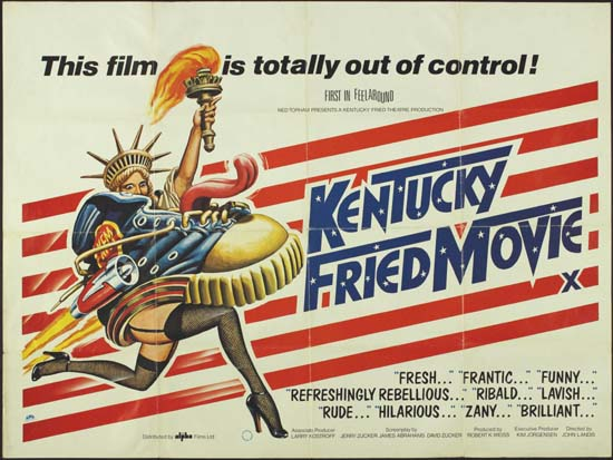 Kentucky Fried Movie, The UK Quad movie poster