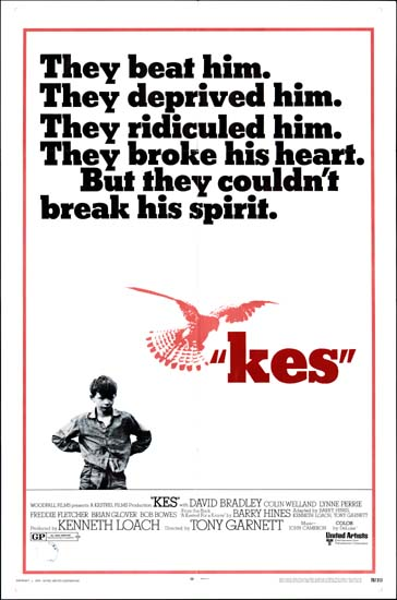 Kes US One Sheet movie poster