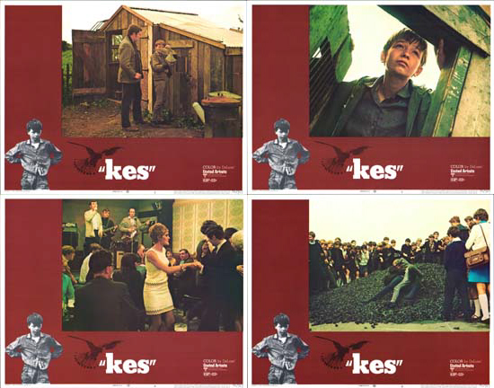 Kes US Lobby Card Set of 8