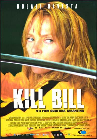 Kill Bill vol 1 Yugoslavian movie poster