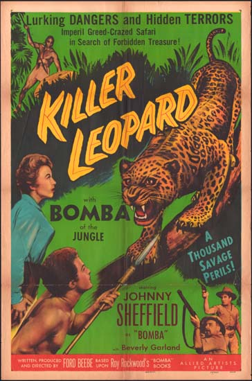 Killer Leopard US One Sheet movie poster