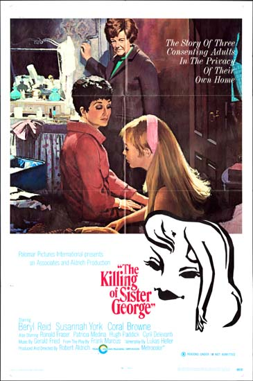 Killing of Sister George, the US One Sheet movie poster