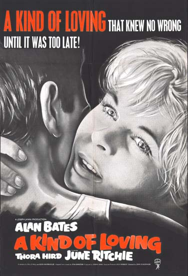 Kind of Loving, A UK One Sheet movie poster