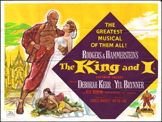 King and I, The UK Quad movie poster