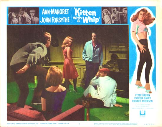 Kitten with a Whip US Lobby Card number 1