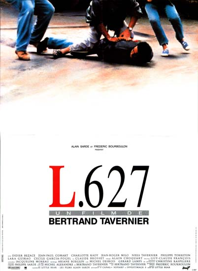 L627 French movie poster