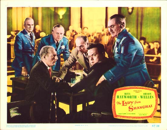 Lady from Shanghai, The US Lobby Card number 3