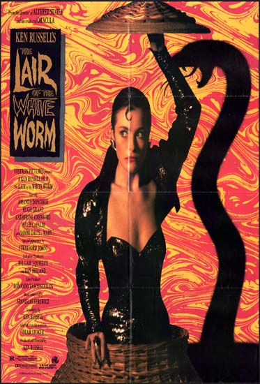 Lair of the White Worm, The US One Sheet movie poster