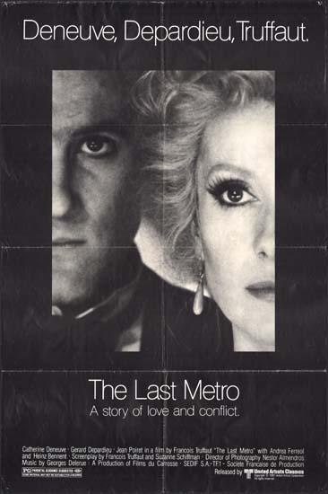 Last Metro, The [ Le Dernier Metro ] US One Sheet movie poster