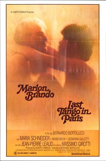 Last Tango in Paris [ Ultimo Tango a Parigi ] US One Sheet movie poster
