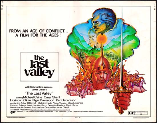 Last Valley, The US Half Sheet movie poster