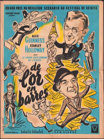 Lavender Hill Mob, The French movie poster