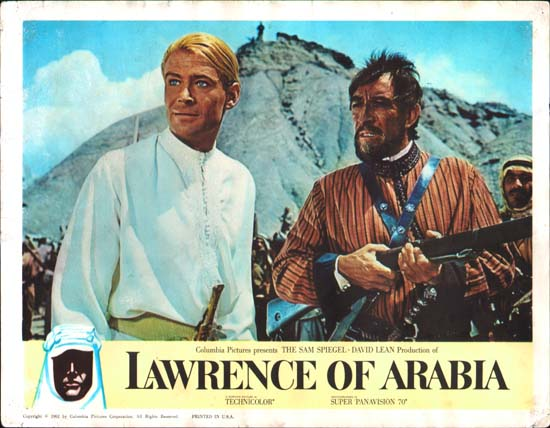 Lawrence of Arabia US Lobby Card