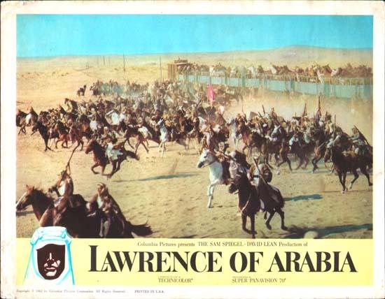 Lawrence of Arabia US Lobby Card