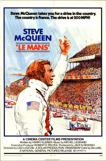 Le Mans US One Sheet movie poster