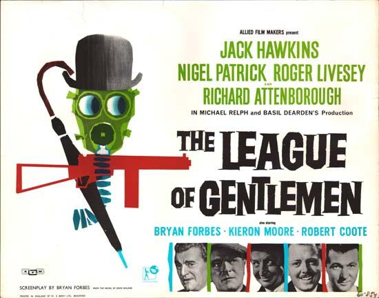 League of Gentlemen, The UK Half Sheet movie poster