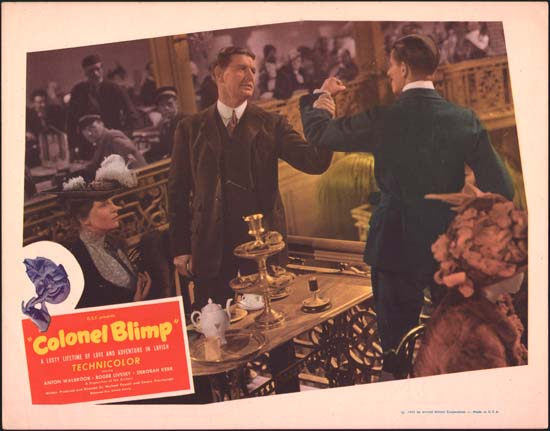 Life and Death of Colonel Blimp, The [ The Adventures of Colonel Blimp ] US Lobby Card