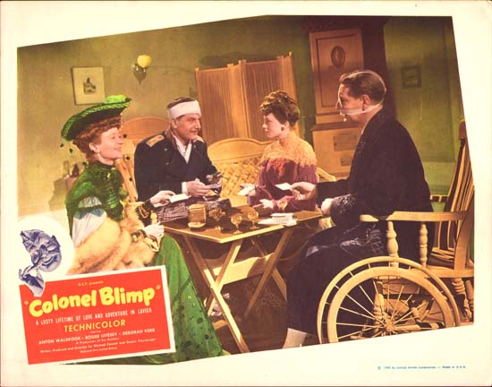 Life and Death of Colonel Blimp, The US Lobby Card