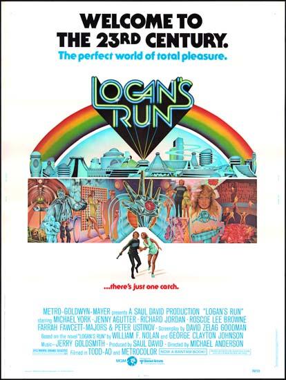 Logans Run US 30x40 movie poster