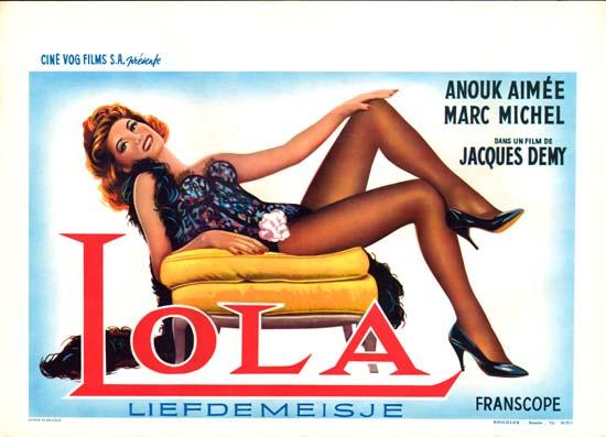 Lola Belgian movie poster