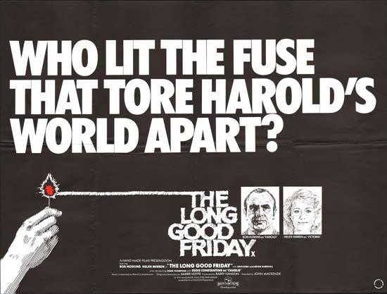 Long Good Friday, The UK Quad movie poster
